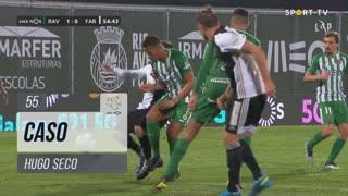 SC Farense, Caso, Hugo Seco aos 55'