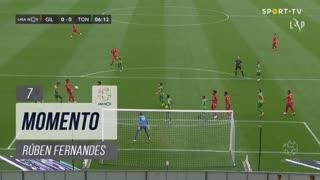 Gil Vicente FC, Jogada, Rúben Fernandes aos 7'