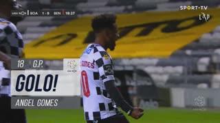 GOLO! Boavista FC, Angel Gomes aos 18', Boavista FC 1-0 SL Benfica