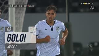 GOLO! Vitória SC, Jorge F. aos 63', Vitória SC 1-2 SL Benfica