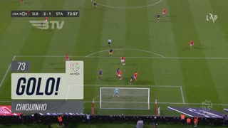 GOLO! SL Benfica, Chiquinho aos 73', SL Benfica 2-1 Santa Clara