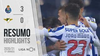 Liga NOS (12ªJ): Resumo FC Porto 3-0 Moreirense FC
