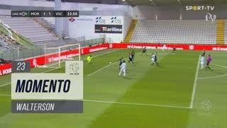 Moreirense FC, Jogada, Walterson aos 23'