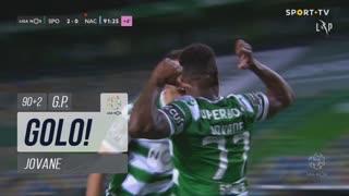 GOLO! Sporting CP, Jovane aos 90'+2', Sporting CP 2-0 CD Nacional