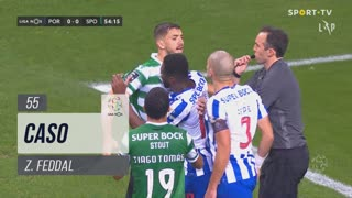 Sporting CP, Caso, Z. Feddal aos 55'