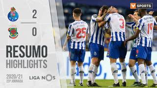 I Liga (23ªJ): Resumo FC Porto 2-0 FC P.Ferreira
