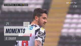 Boavista FC, Jogada, G. Sauer aos 21'