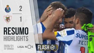 I Liga (25ªJ): Resumo Flash FC Porto 2-1 Santa Clara
