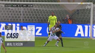 Moreirense FC, Caso, Walterson aos 31'