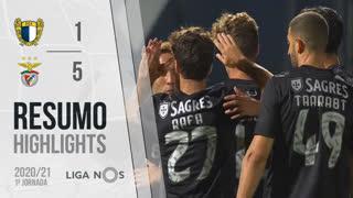 I Liga (1ªJ): Resumo FC Famalicão 1-5 SL Benfica