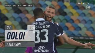 GOLO! FC Famalicão, Anderson aos 27', Sporting CP 1-1 FC Famalicão