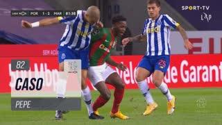 FC Porto, Caso, Pepe aos 82'