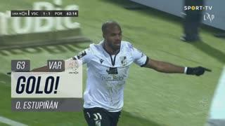 GOLO! Vitória SC, O. Estupiñán aos 63', Vitória SC 2-1 FC Porto