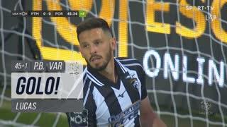 GOLO! FC Porto, Lucas (p.b.) aos 45'+1', Portimonense 0-1 FC Porto