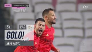 GOLO! SL Benfica, Seferovic aos 54', SL Benfica 1-0 CD Tondela
