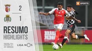 I Liga (28ªJ): Resumo SC Braga 2-1 Boavista FC