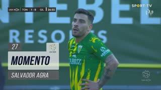 CD Tondela, Jogada, Salvador Agra aos 27'