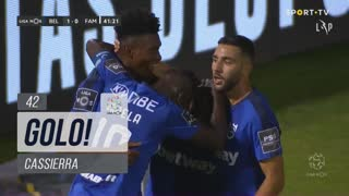 GOLO! Belenenses SAD, Cassierra aos 42', Belenenses SAD 1-0 FC Famalicão