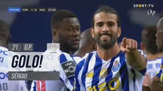 GOLO! FC Porto, Sérgio aos 21', FC Porto 1-0 CD Nacional