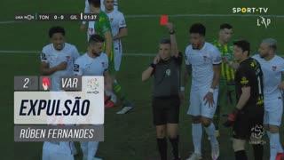 Gil Vicente FC, Expulsão, Rúben Fernandes aos 2'