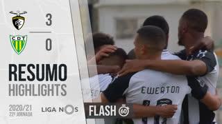 I Liga (22ªJ): Resumo Flash Portimonense 3-0 CD Tondela
