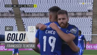 GOLO! Belenenses SAD, Francisco Teixeira aos 90'+1', Belenenses SAD 2-1 Gil Vicente FC