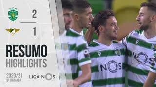 I Liga (8ªJ): Resumo Sporting CP 2-1 Moreirense FC