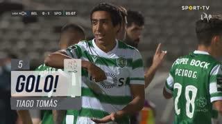 GOLO! Sporting CP, Tiago Tomás aos 5', Belenenses SAD 0-1 Sporting CP