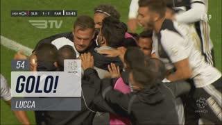 GOLO! SC Farense, Lucca aos 54', SL Benfica 1-1 SC Farense