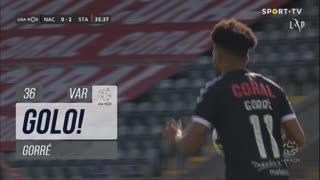 GOLO! CD Nacional, Gorré aos 36', CD Nacional 1-2 Santa Clara
