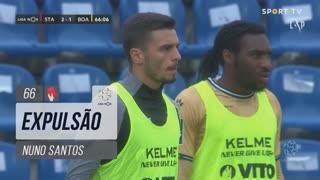 Boavista FC, Expulsão, Nuno Santos aos 66'