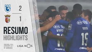 Liga NOS (9ªJ): Resumo Belenenses SAD 2-1 SC Braga