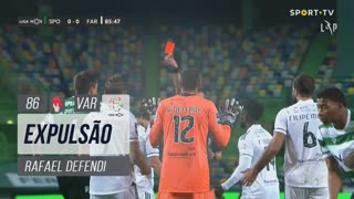 SC Farense, Expulsão, Rafael Defendi aos 86'