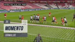 SL Benfica, Jogada, Grimaldo aos 36'