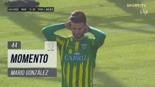 CD Tondela, Jogada, Mario González aos 44'