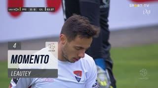 Gil Vicente FC, Jogada, Leautey aos 4'