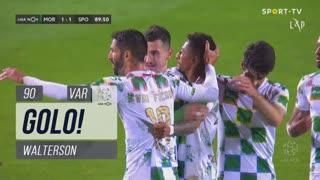 GOLO! Moreirense FC, Walterson aos 90', Moreirense FC 1-1 Sporting CP