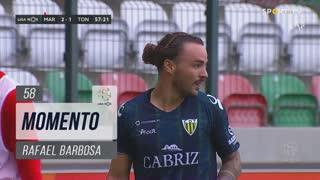 CD Tondela, Jogada, Rafael Barbosa aos 58'
