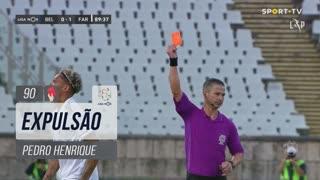 SC Farense, Expulsão, Pedro Henrique aos 90'