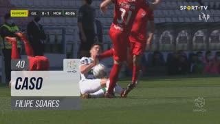 Moreirense FC, Caso, Filipe Soares aos 40'
