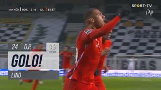 GOLO! Gil Vicente FC, Lino aos 24', Boavista FC 0-1 Gil Vicente FC