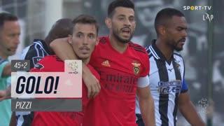 GOLO! SL Benfica, Pizzi aos 45'+2', Portimonense 1-1 SL Benfica