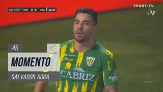 CD Tondela, Jogada, Salvador Agra aos 45'