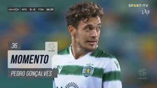 Sporting CP, Jogada, Pedro Gonçalves aos 36'