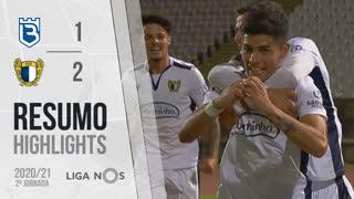 I Liga (2ªJ): Resumo Belenenses SAD 1-2 FC Famalicão