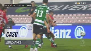 Gil Vicente FC, Caso, Gonçalves aos 40'