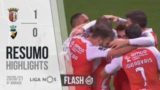 Liga NOS (8ªJ): Resumo Flash SC Braga 1-0 SC Farense