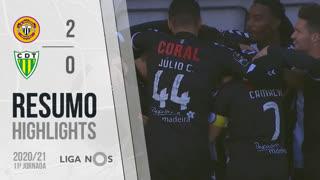 I Liga (11ªJ): Resumo CD Nacional 2-0 CD Tondela