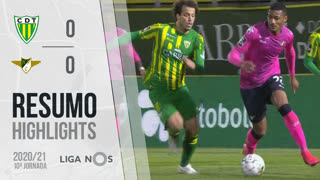 Liga NOS (10ªJ): Resumo CD Tondela 0-0 Moreirense FC