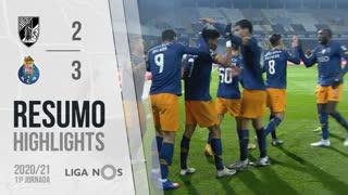 Liga NOS (11ªJ): Resumo Vitória SC 2-3 FC Porto